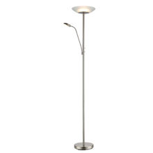 Single - pole glass lamp shade mother and son decorative nordic standing led modern floor lamp for living room