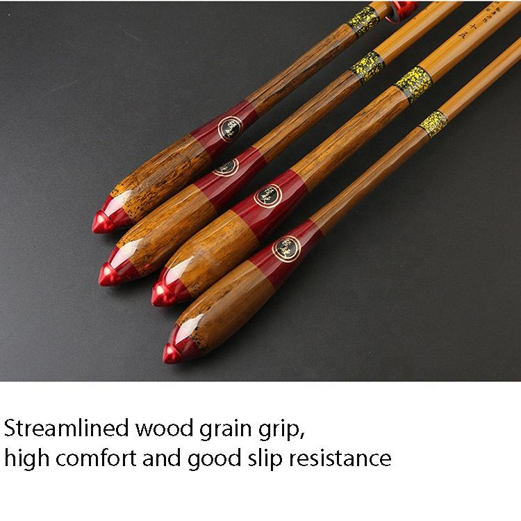 28 Adjustable 2.7m 3.6m 3.9m 4.5m 4.8m 5.4m 6.3m 5.7m The High Carbon Bamboo Joint Hard Crucian Carp Taiwan Rod