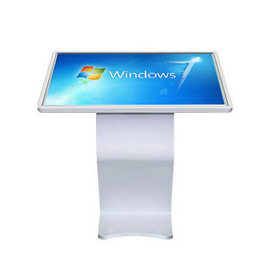 Wokai stand pc self service internet university library management touch advertising kiosk price