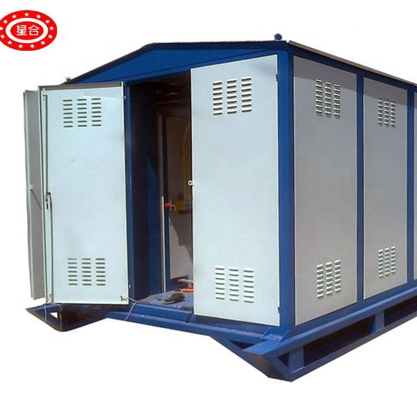 500kva electrical mobile transformer prefabricated substation