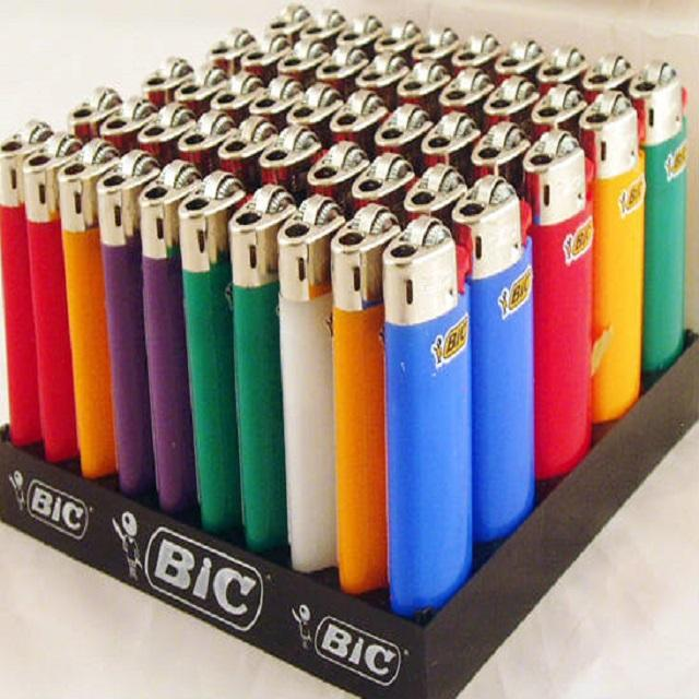 Bics Lighters Multiple Colors
