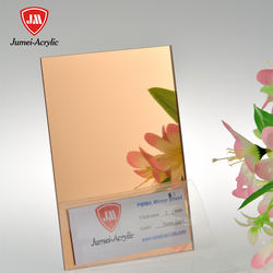 Silver Gold Acrylic Mirror sheet 1220*2440 1.8mm 2mm 2.8mm 3mm