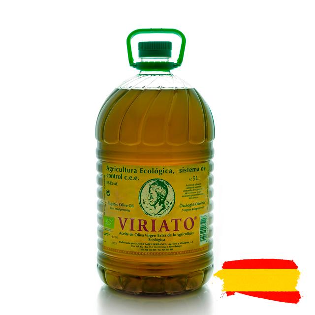 Spanish Viriato Tradicion extra virgin olive oil from Molino de Zafra, Extremadura, Spain