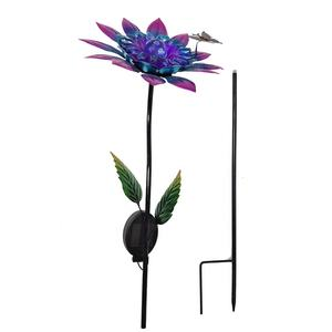 Fabrikant Groothandel Solar Powered Outdoor Verlichting Bloem Stake Tuin