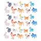 Animal Toys 20PCS Farm Figures Barn Animals for Toddlers Kids Preschool Educational toy