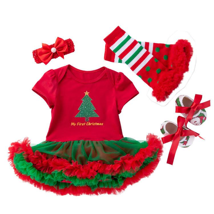 De diseño de <span class=keywords><strong>moda</strong></span> ropa de bebé recién nacido Niño 0-3 meses bebé mono de <span class=keywords><strong>chica</strong></span> de la Navidad vestido de Bebé Ropa de niña