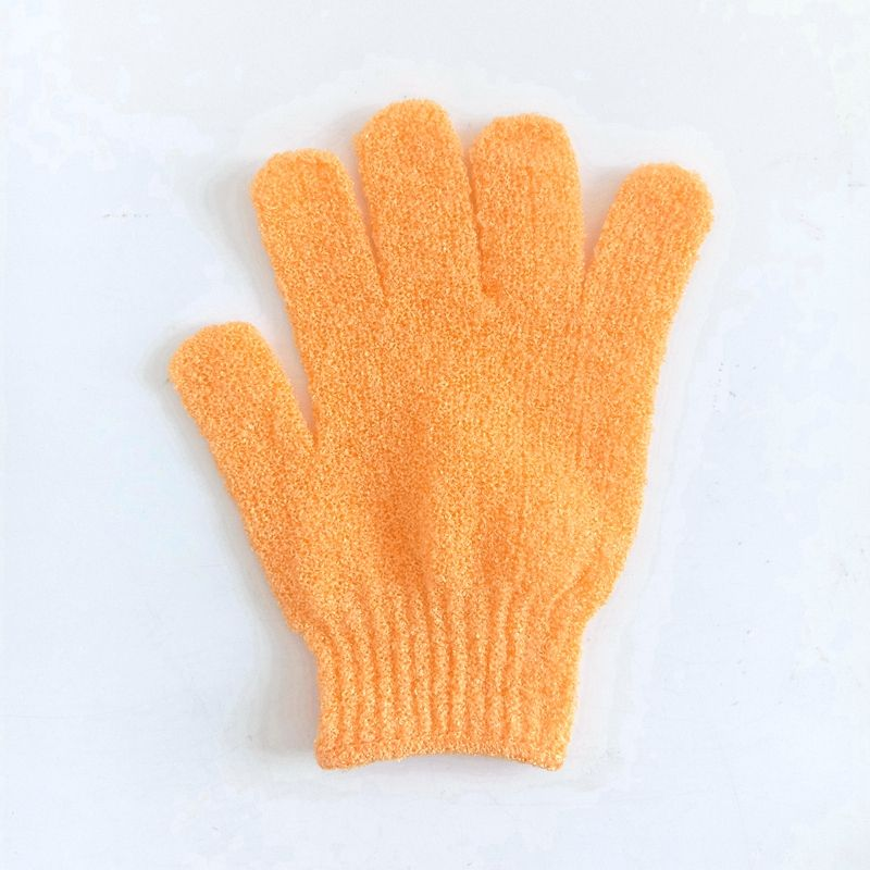 Nylon Bath Scrubber Shower Bath Gloves Exfoliating Gloves