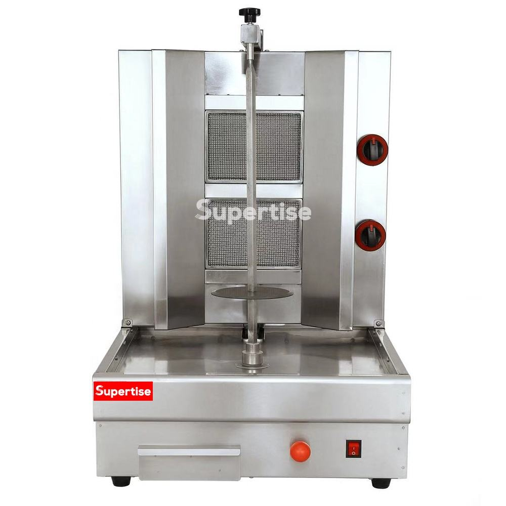 Tischplatte Automatische <span class=keywords><strong>Gyros</strong></span> Tragbare Döner Kebab <span class=keywords><strong>Grill</strong></span> Mini Kleine Shawarma Maschine