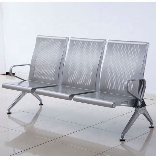 Commerical design high back waiting chair for hospital salon waiting room airport waiting bench