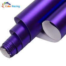 High flexible self adhesive chrome metallic matt car body wrap vinyl car body wrapping foil sticker in best price