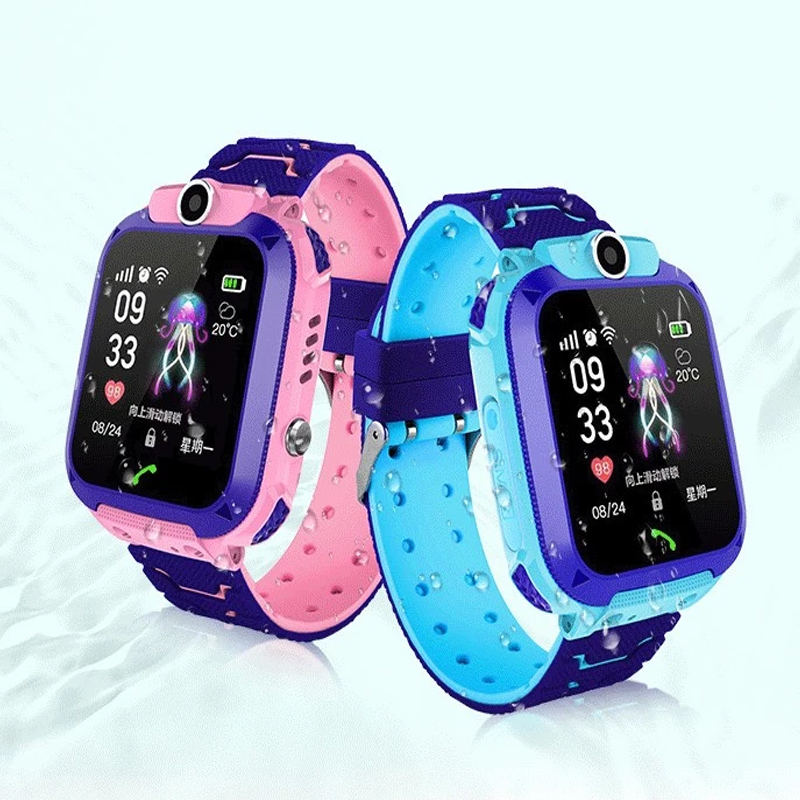 Original Children Smart Watch Phone Z5 Kids Tracking Gps Watch Ip67 Waterproof Mobile Watch Phones With Camera Support Sim Card