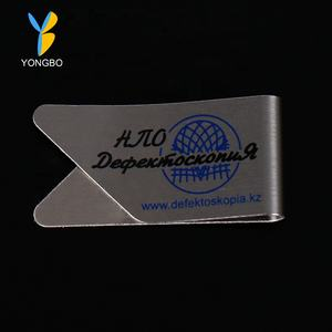 Wholesale Various Shape Custom Logo Stainless Steel Paper Clip