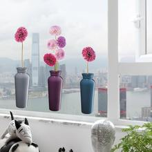2020 Flower Removable Static Cling Anti-UV Waterproof Window Decorative Films Sticker Without Glue For Home Decor