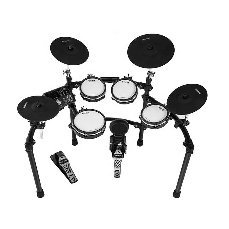 NUX DM-7X 30 self-sampling preset drum kits and 5 types of coaching functions professional electronic drum