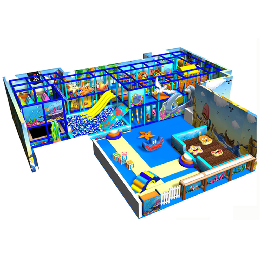 Dreamland commercial soft play safe small area kids plastic indoor playground for sale