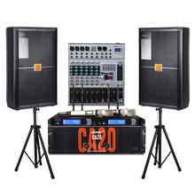 professional audio video mixer with amplifier kit