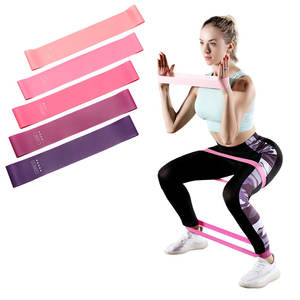 Hot Selling Goedkope Fitness Body Building Yoga Apparatuur Stretch Touw Elastische Sport Home Gym Rubber 5 Soort Training Oefening Band