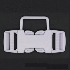Wholesale 3 point harness strap seat belt plastic buckle for baby stroller high chair