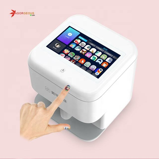 Cheap price 3d nail art automatic DIY painting decoration printer machine