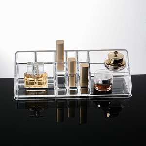Clear acrylic make organizer acryl sieraden earring organizer acryl make-up organisator