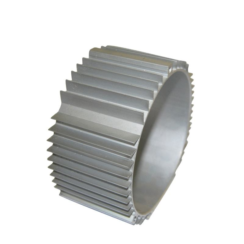Extrusion Profile Radial Aluminum Extruded Motor Body