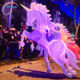 Creative inflatable Walking Inflatable unicorns Costume For Parade Event Decoration