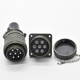 MS5015 circular 24-10P 7 pin screw ip65 ip67 military Amphenol connector