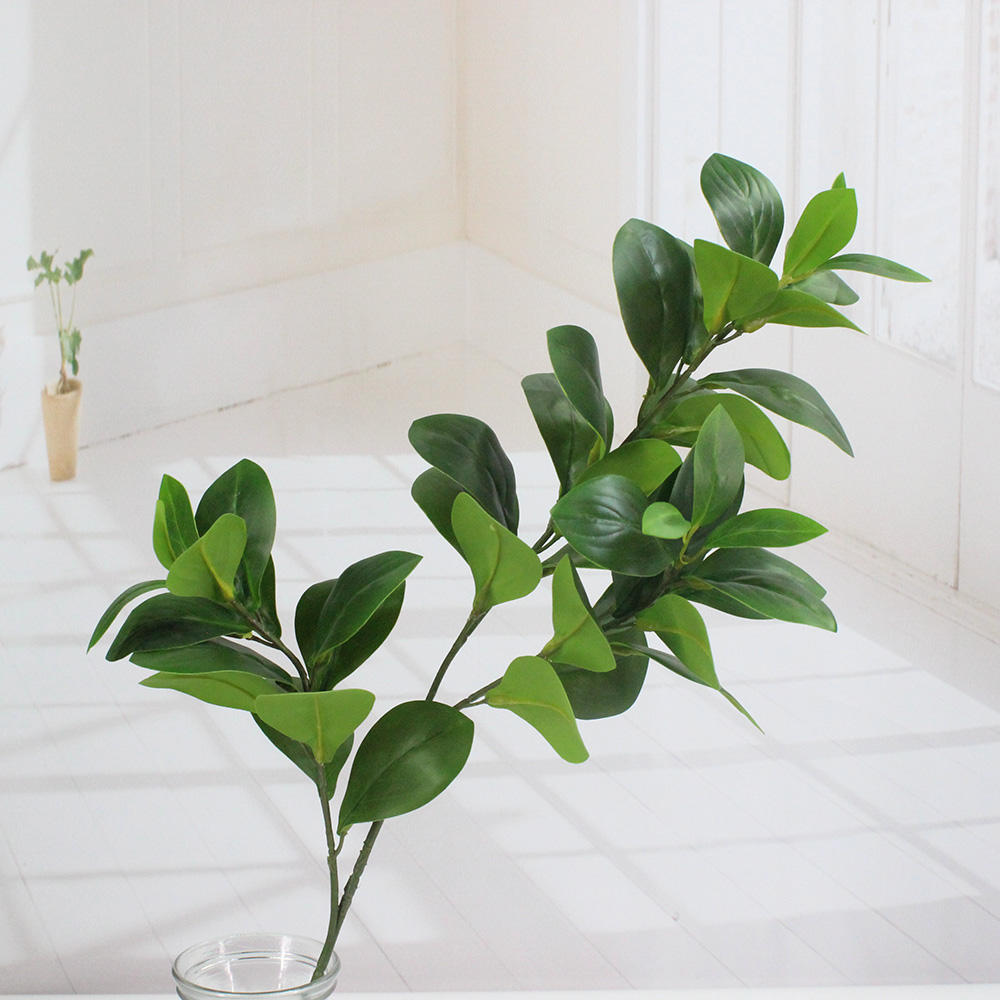 Factory Wholesale Artificial plants Peperomia betel leaves