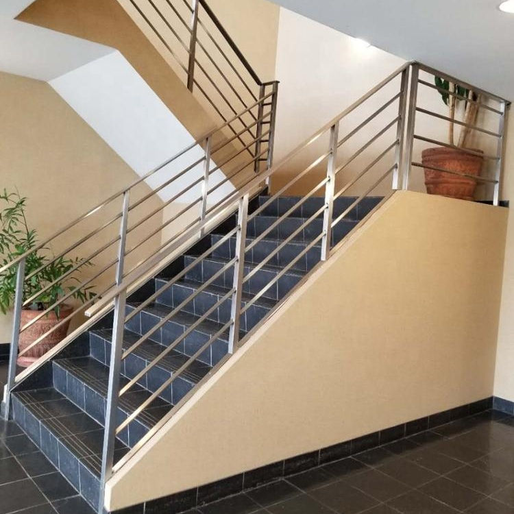 Rvs Trap Cross Bar Reling Post Balustrade Leuning Rvs