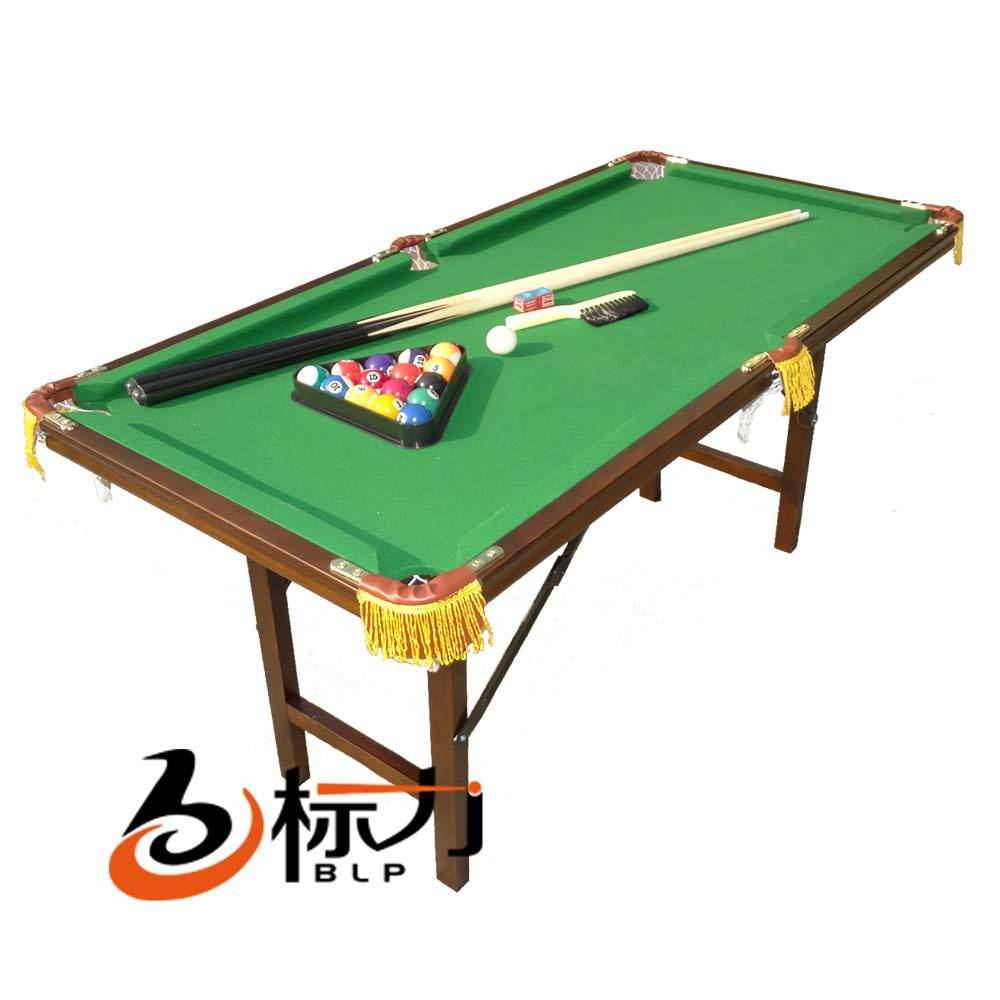 3ft,4ft,5ft snooker and pool table, folded kids billiard table