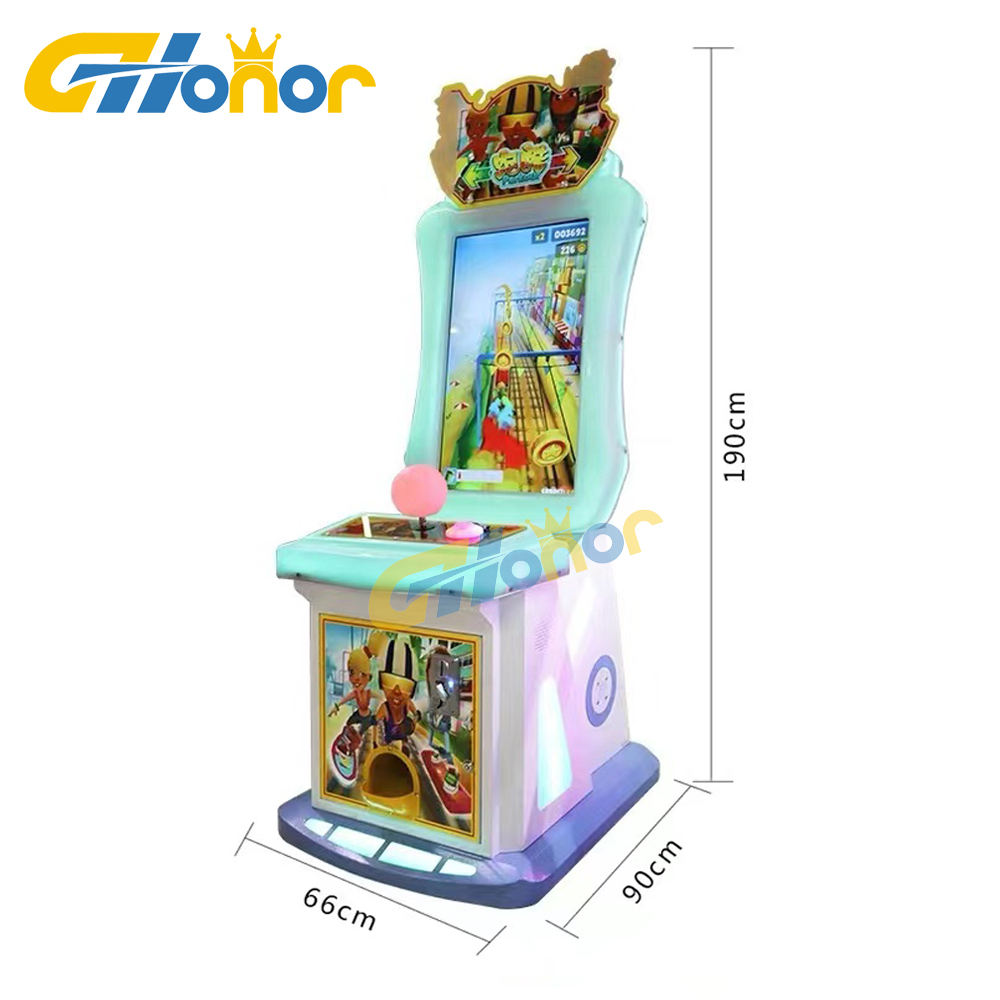 Subway parkour/Subway surfer games kids redemption ticket arcade machines coin operated video games on Sale
