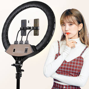 14 inch 18 inch Youtube Live Tiktok Live Ring Light LED with Holder Tripod Stand for Mobile Phone