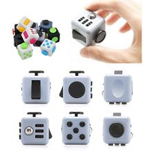 promotional 6 Sides Rubber Silicone Kids Fidget Toys Dice Relieves Anxiety Stress Fidget Cube for Children and Adults