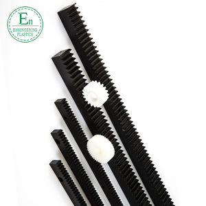 custom CNC gear rack rail offer POM 1 meters nylon gear rack