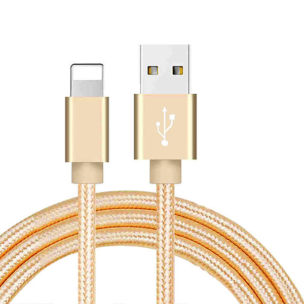 Nylon Braided USB Cable for iphone 8 Plus 1m/2m/3m Fast Charging Sync Data USB Cable For iPhone Chargers