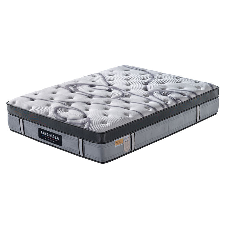 SQ-1510C FANDI hot sell gel memory foam mattress bed spring queen size mattress