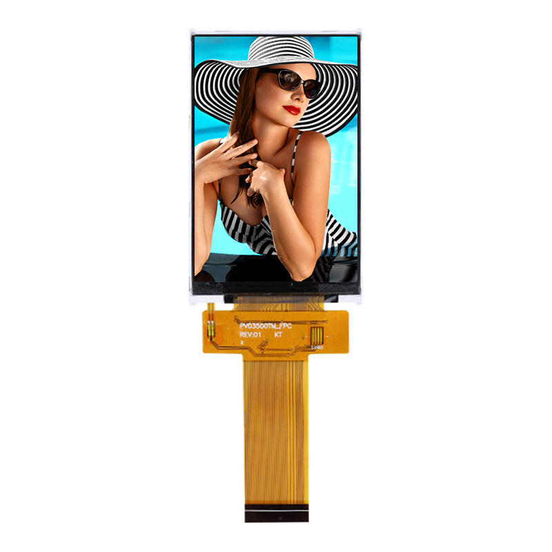Full View Angle 3.5 inch tft lcd touch panel ili9481 ips display