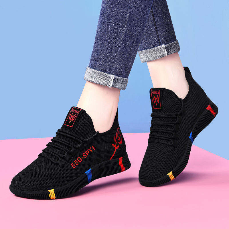 New Spring Women Casual Shoes Breathable Mesh Platform Sneakers Women New Fashion mesh sneakers Shoes Tennies Sports shoes