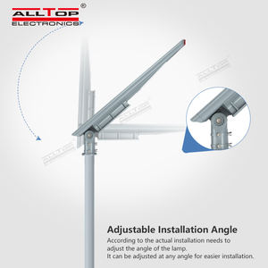 ALLTOP 150W Outdoor Tahan Air Ip65 Baterai Terintegrasi Power Led Jalan Cahaya