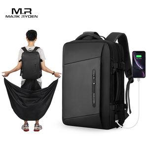 mark ryden raincoat laptop backpack with usb charging port bag men