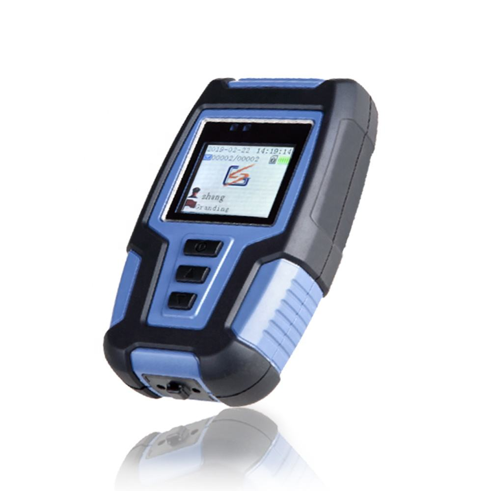 Waterproof IP68 GPRS & GPS Fingerprint guard tour patrol system
