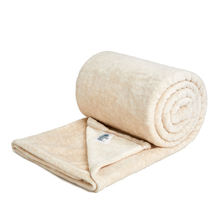 Promotion Customized Sherpa Washable Sensory Throws Blanket Super Soft  For Sofa