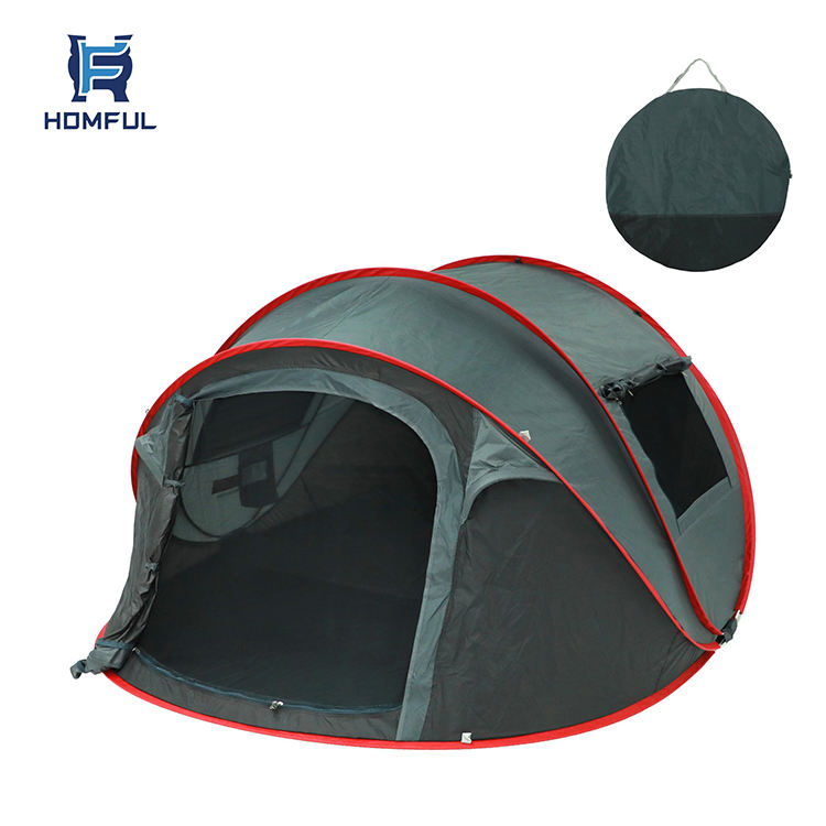 HOMFUL Automatic Instant Tent Pop Up Tents Camping Outdoor Waterproof for Family