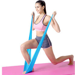 Resistance Band Exercise Elastic Natural late Workout Rubber