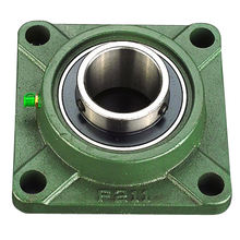 Bearing Ningbo Square Bore Pillow Block Flange Bearing Housing F211 UCF211