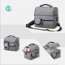 Insulated Lunch Bag for Women Men, Leakproof Thermal Reusable Lunch Box for Adult Kids Lunch Cooler Tote for Office