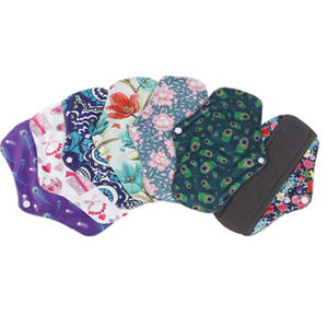 Eco Friendly Waterproof Reusable Washable Sanitary Napkins Maternity period Menstrual Pads OEM/ODM