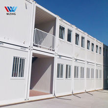 best selling porta cabin container hospital school classroom labor Model House at construction offsite