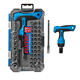 FIXTEC 2020 New Design Multifunctional Hand Tools Sets 47PCS CRV T-Type Ratchet Screwdriver Set