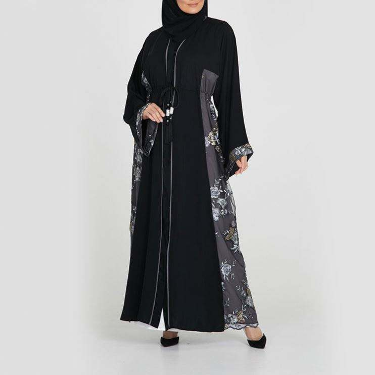 2019 New Arrival Islamic Women Clothing Jilbab Thailand Jubah Novel Uae With Turkish Abaya Wholesale